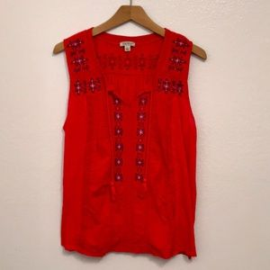 Lucy Brand Sleeveless Top size L
